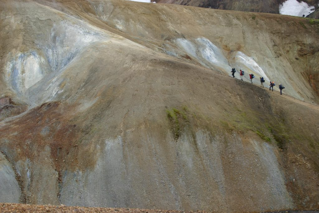 Landmannalaugar, binneland IJsland